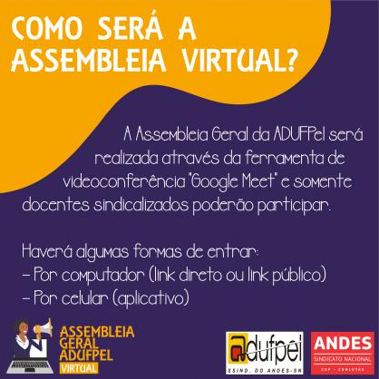Acesso � Assembleia Virtual