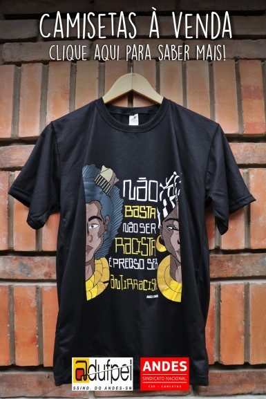 Camisetas contra o racismo